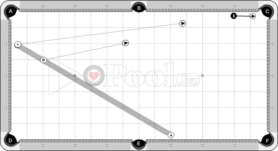 Progressive Criss Cross Table Drill, Set 4 (1 D to Pocket)