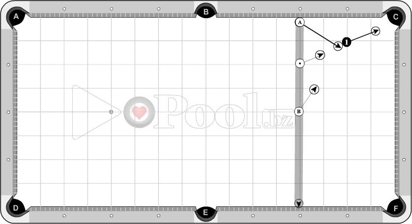 Progressive Cross Side 1 (1D Pocket + 1/2D out)