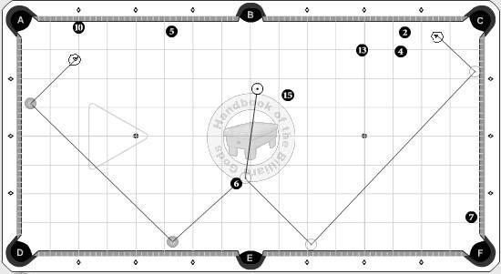 HIdden Ball Safety, 8 Ball, Example 1