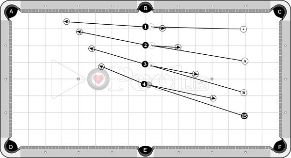 Drills & Exercises - Draw Skills (progressive) - 3 D Distance sets