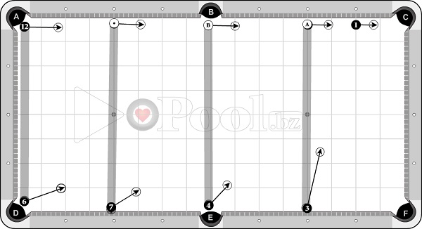 Drills & Exercises - Pocket Skills (progressive) - Cross Side sets - 1D to pocket