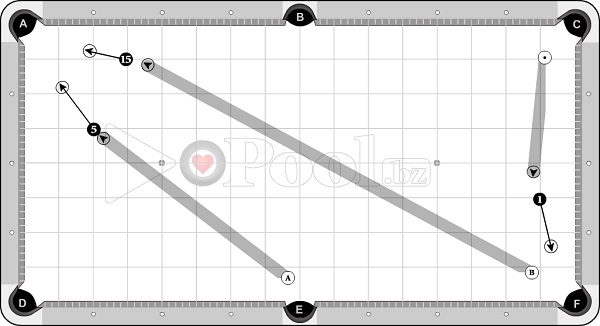 Drills & Exercises - Pocket Skills (shallow angle) - OB 1.5 D to Pocket
