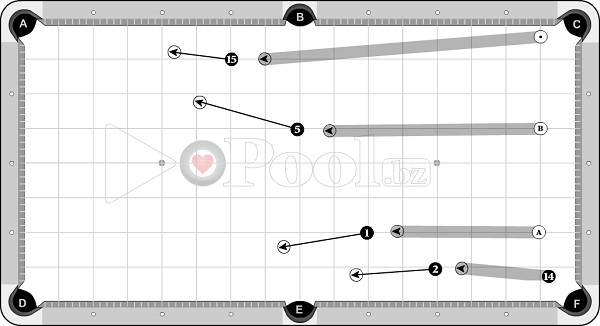 Drills & Exercises - Pocket Skills (shallow angle) - OB 3, 4, 5, 6 D to Pocket